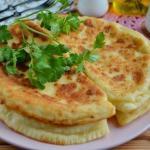 Домашние хачапури по простому рецепту.