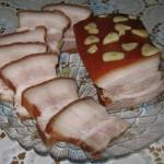 Сало горячего засола - домашний деликатес!