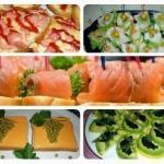 Фуршет на скорую руку: топ - 11 аппетитных рецептов.