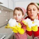 10 советов для чистоты на кухне.