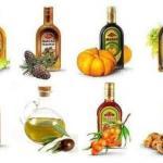 Растительные масла - информация о каждом.
