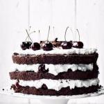 """Шварцвальдский шоколадный торт """"Черный лес""""."""