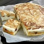 Творожное пирожное - улучшенная королевская ватрушка.