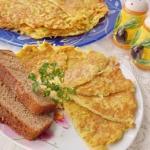 Тёртая картошка с яйцом - быстрый и вкусный завтрак!