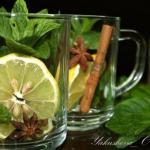 Марокканский чай.  Такой чай очень эффектный и полезный!