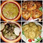 Четыре блюда из одной курицы.