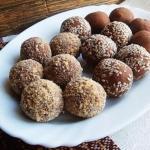 4 рецепта полезных конфет, которые легко приготовить дома.
