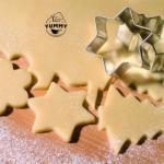 Новогоднее песочное печенье.