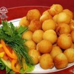 Картофельные шарики для гарниров.