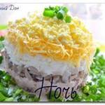 9 рецептов салатов от Натальи чагай.