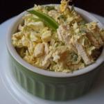 Салат из пекинской капусты с курицей.