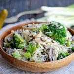 Рис с овощами.