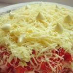 Самые вкусные рецепты салатов на праздник.