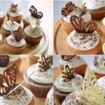 Как сделать шоколадных бабочек!