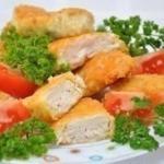 Самостоятельно приготовленные куриные наггетсы - не обязательно какой-нибудь вредный Фаст - фуд.