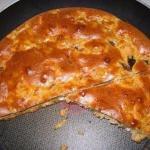 """Пирог """"Быстрый и Вкусный"""" из теста на кефире со сметаной и майонезом."""