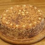 Киевский торт.  Ингредиенты: