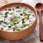 ? 5. Самых вкусных холодных супов?