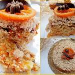 Постный морковный пирог.