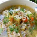 Суп рыбный из горбуши (консервы).