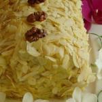 """Слоеный торт с заварным кремом """"Полено"""" - нежный, влажный, в меру сладкий!"""