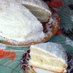 Пирог тополиный пух.