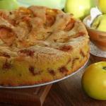 Шарлотка с яблоками (мастер-класс).