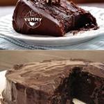 Супер - влажный шоколадный торт (без яиц).