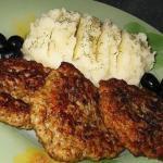 Мясные оладушки на кефире - прекрасная альтернатива котлетам!