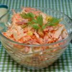 """Салат """"Зимний"""".  Хочу предложить вам рецепт очень простого салата - для зимы - просто Находка."""