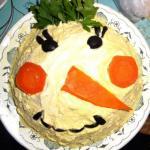 Порадуйте гостей, вкусным новогодним салатом!
