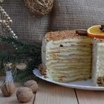 Творожный торт.   Этот нежный и очень вкусный домашний торт всегда на моем праздничном столе.