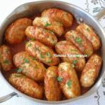 Гречаники.  Гречаники - блюдо украинской кухни, которое готовится из мясного фарша с добавлением вареной гречки.