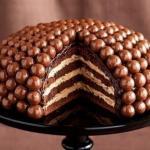Знаменитый Maltesers Cake.