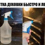 Экспресс - чистка духовки.