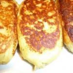 Картофельные зразы.  Ингредиенты: