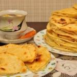 Кыстыбый - Вкусные татарские лепешечки с картошкой - пюре.