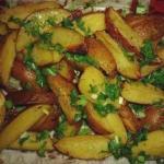 Картошечка в духовке.  Ингредиенты: