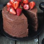 Шоколадный торт.   Время приготовления: 50 минут.