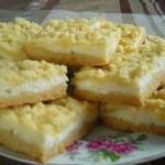 Творожный пирог - очень вкусный, нежный и легкий пирог.