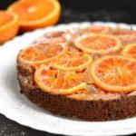 Ореховый торт с апельсинами?