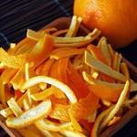 Апельсиновые цукаты.  Ингредиенты: