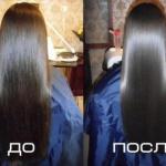 Маска для роста и восстановления волос, придает волосам блеск и шелковистость!