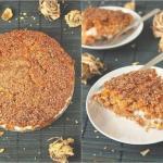 Пирог получается нежный, пушистый, влажный, и очень приятный для любого сезона и любого случая.