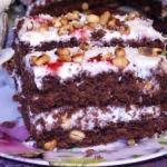 Простой домашний торт.