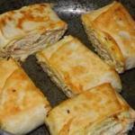 Еще одно блюдо из лаваша - хрустящее - манящее?