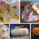 Куриная грудка с сыром в сухарях?