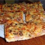 Домашняя пицца. Мы готовим быстро и вкусно?