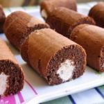 Шоколадные пирожные.  Ингредиенты на тесто:
