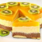 Торт без выпечки манный?